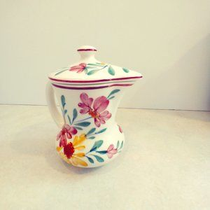 Vintage hand-painted in Germany chocolate pot